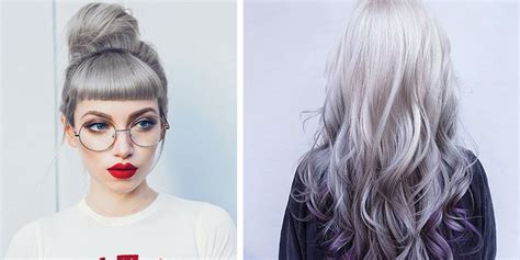 trendy gray hair styles 20 trendy and gorgeous grey hair ideas