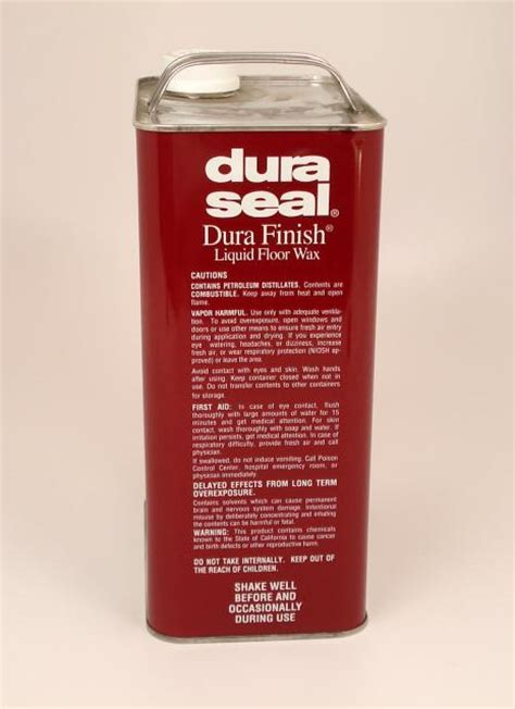 Dura Seal Durafinish Liquid Wax for Hardwood Floors Coffee