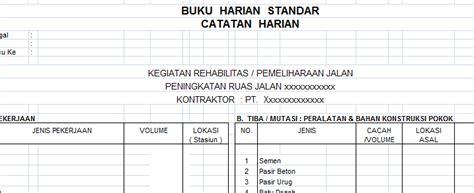 format buku ulangan harian contoh format buku kas bulanan kumpulan file laporan