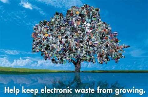 electronic pollution   waste
