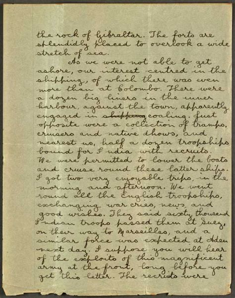 Title Letter Ri Letter To Hazel Sunday 29 Nov 1914 Cecil Malthus World War I Papers Letters