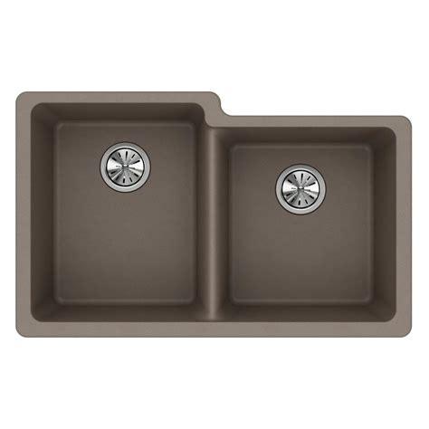 33 undermount kitchen sink elkay quartz undermount composite 33 in