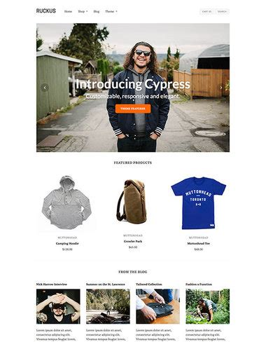 shopify themes cypress top 50 shopify themes for your ecommerce store