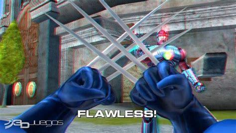 imagenes en 3d marvel marvel super heroes 3d grandmaster s challenge para wii