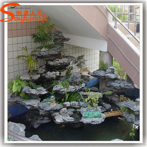 artificial indoor fountains and waterfalls for home mini