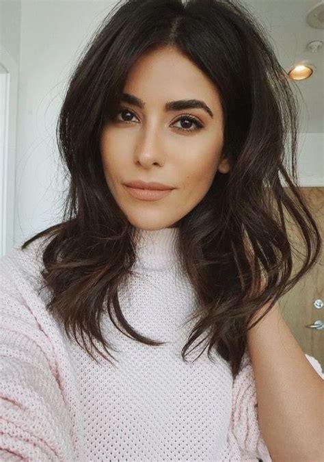 short brunette hairstyles pinterest best 25 brunette haircut ideas on pinterest brunette