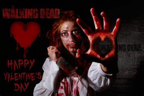 happy valentines day walking dead walking dead happy s day by brandtk on deviantart