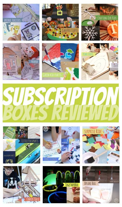 12 Subscription Craft Boxes For Compared