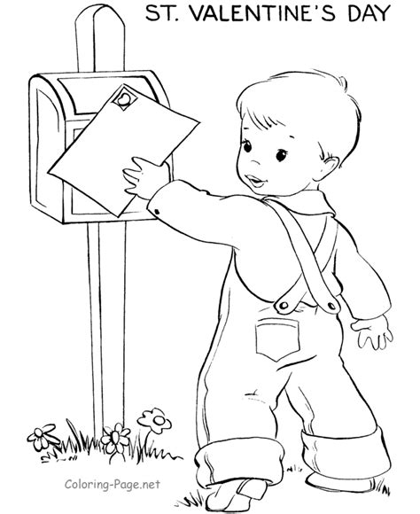 valentine coloring pages st valentine s day
