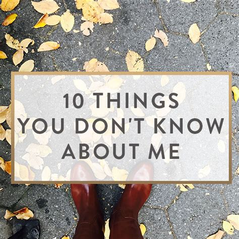 5 Things You Dont About Me by 10 Things You Don T About Me It Starts With Coffee