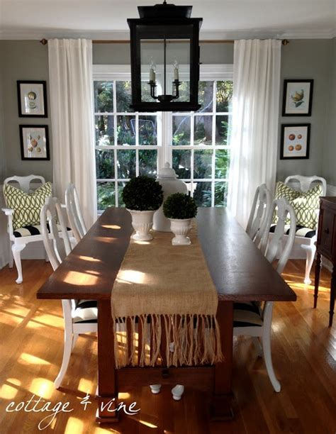 cottage and vine gray dining room check it out paint colors vines and runners