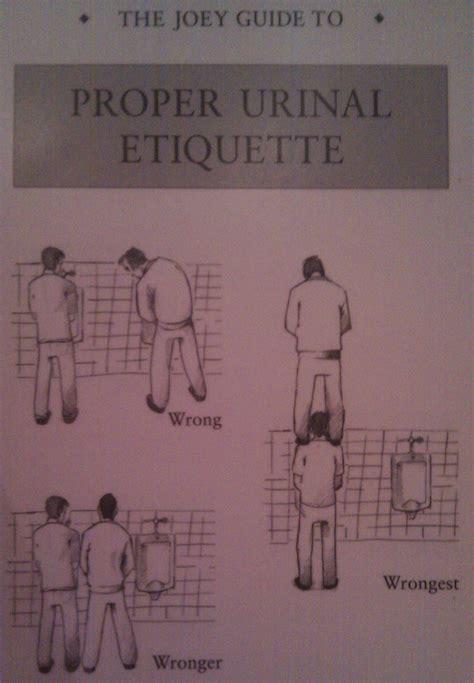 male bathroom etiquette proper urinal etiquette imgur