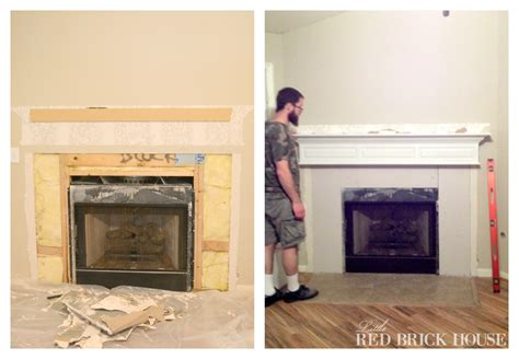 Fireplace Cement Board by Fireplace Makeover Demo Pillar Construction