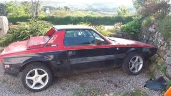 Fiat X19 For Sale Uk For Sale Fiat X19 Project Or Parts 1986 Classic Cars Hq