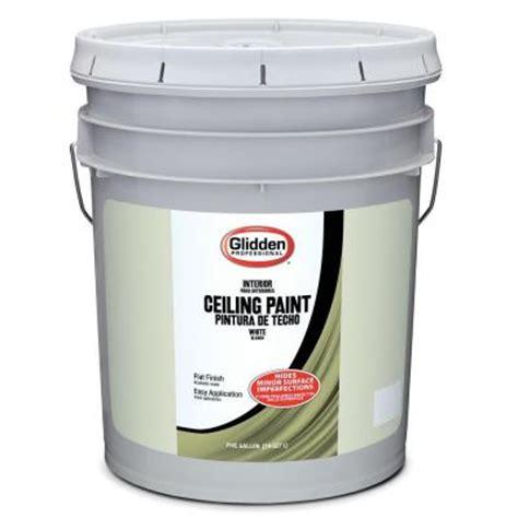 home depot ceiling paint glidden professional 5 gal flat ceiling paint gpl 0000 05