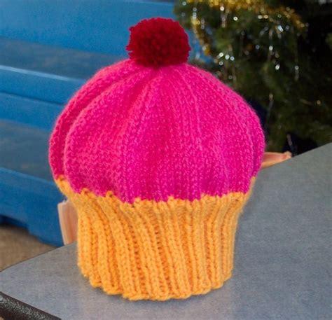 cupcake knitted hat pattern free cupcake hat free knitting pattern baby