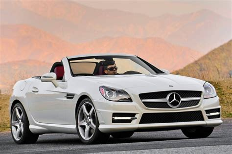 used mercedes convertible used 2015 mercedes benz slk class convertible pricing