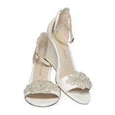 1000 images about wedding shoes on wedge