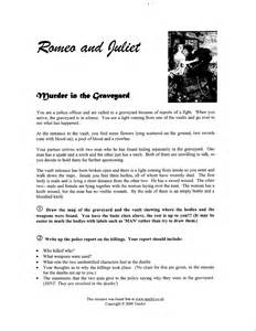 romeo and juliet worksheets davezan