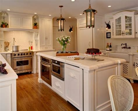kitchen island with oven oven in island houzz