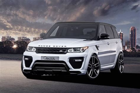 exclusive range rover sport range rover sport by caractere exclusive carz tuning