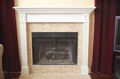Ceramic Tile Fireplace by Gas Fireplace Tile On Metal Ceramic Tile Advice Forums