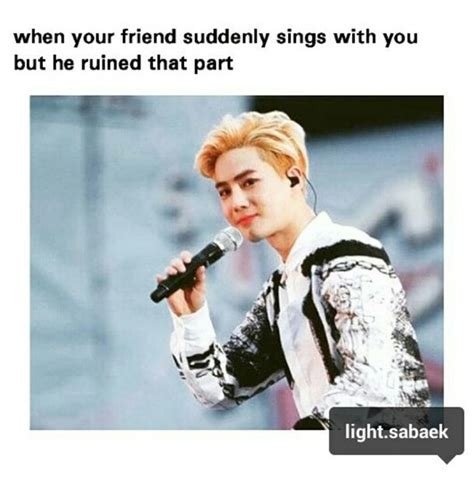 Cute Best Friend Memes - friends memes exo cute exo meme exo macrons image