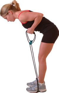resistance band tricep muscle exercises