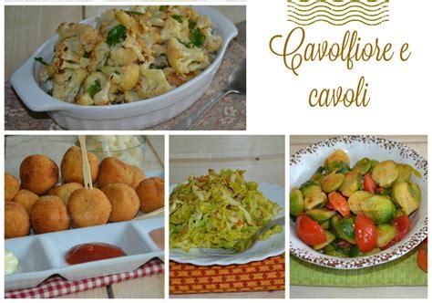 cavoli ricette cucina ricettario pdf cavolfiore e cavoli in cucina con il