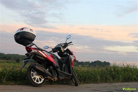 Box Depan Vario 110 review satu tahun bersama honda vario 125 helm in