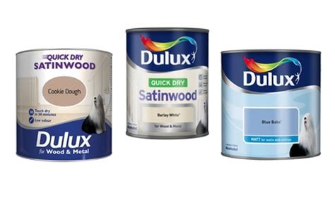 dulux paint groupon goods