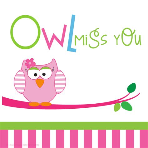 owl miss you card template owl miss you for product categories