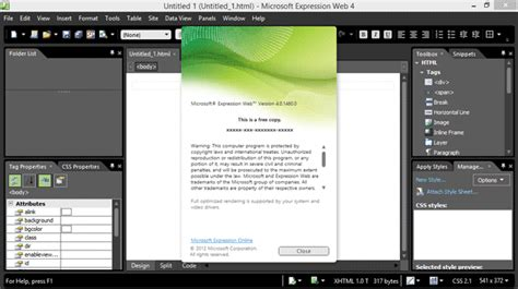 Microsoft Expression Web 4 Templates by Microsoft Expression Web