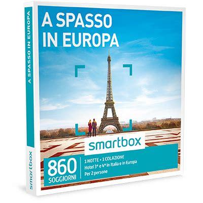 cofanetti soggiorni cofanetti regalo soggiorni in europa smartbox