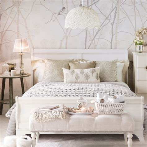 White Bedroom Decorating Ideas Pictures | glamorous bedroom decorating ideas housetohome co uk