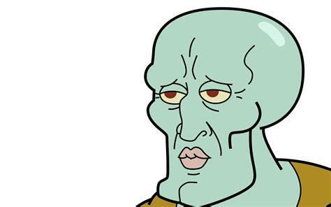 Squidward Meme - handsome squidward wallpaper meme wallpapers 42402