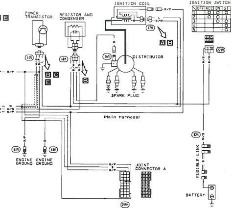 ka24de distributor wiring diagram efcaviation