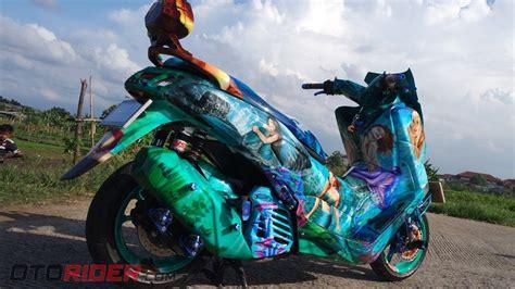 Saklar Motor Bajaj modifikasi yamaha nmax 2016 bagai dikelilingi putri duyung