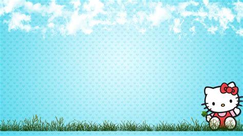 hello kitty wallpaper summer hello kitty summer wallpaper desktop with blue sky