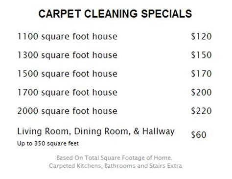 Upholstery Cleaning Services Prices by Cleaning Services Carpet Cleaing Services Pricelist