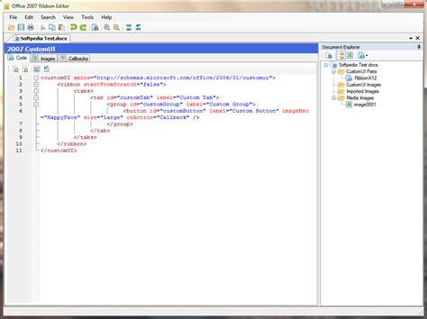 Office Xml Editor Office Ribbon Editor
