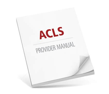 acls provider manual study guide for acls with ekg interpretations books provider manual free uploadxp