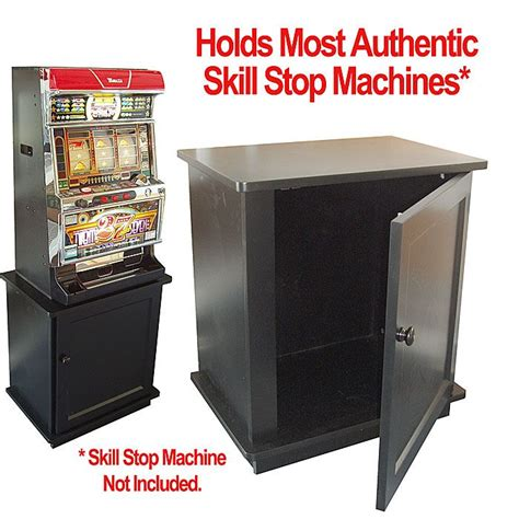 Tm Skill Authentic solid wood slot machine cabinet skill stop machine cabinet stand an attractive and practical