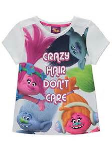 Review Toasters Trolls Glitter T Shirt Kids George At Asda