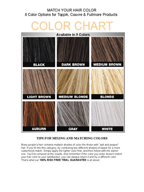 hair color template color chart templates 53 free templates in pdf word