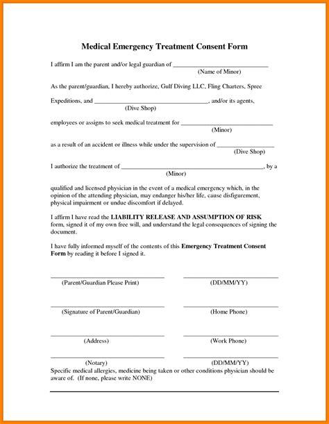 Free Printable Child Consent Form