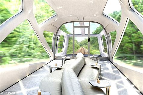 Japanese Sleeper Cars by Designer Unveils Plans For New 163 30m Ultra Luxury