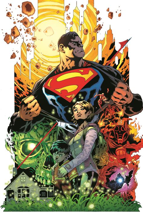 Superman Rebirth Dc Comic dc rebirth superman hush comics