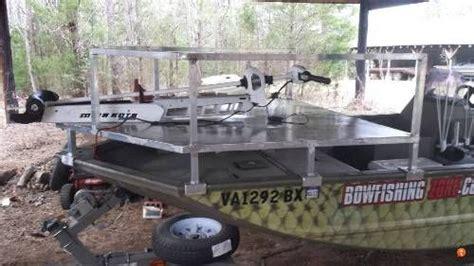 bowfishing boat ideas bowfishing deck designs idea bowfishing boats fishing