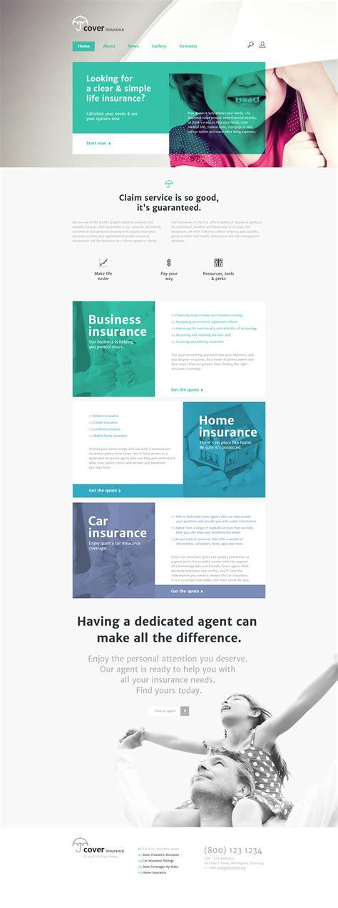 insurance site template insurance site template